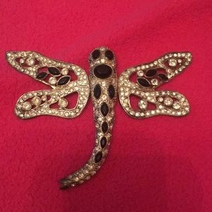 Large dragonfly brooch/pendant